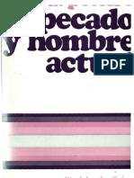 Peteiro, Antonio - Pecado y Hombre Actual