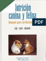 Nutricion Canina y Felina_manual Para Profesionales