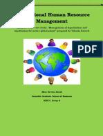 International Human Resource case study