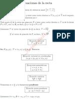 EcuacionesRecta