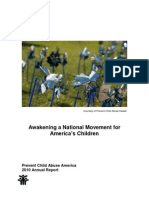 Prevent Child Abuse America 2010 Annual Report, (May 2011)