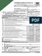 Prevent Child Abuse America 2009 990 Form