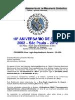 CIMAS - PROGRAMA DEFINITIVO - 2012