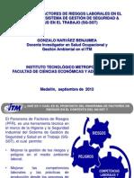 (1) Panorama de Factores de Riesgos (GoNaBe) 2012