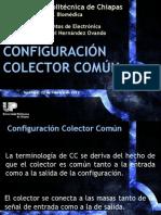3.5. Configuración en Colector Común