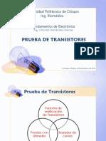 3.8. Prueba de Transistores