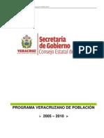 17-1 PROGRAMA VERACRUZANO DE POBLACIÓN 2005-2010