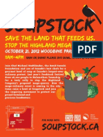 Soupstock 2012 Poster