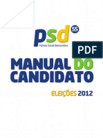 Manual do Candidato do PSD 2012