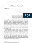 Can We Afford Theories of Learning?