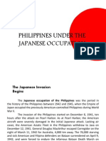 Philippines Under the Japanese Occupation