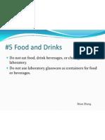 5 Food and Drinks