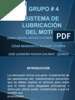 sistema del lubricación
