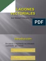 Relaciones Vectoriales