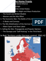 Lecture 9 - The Home Front + Strategic Bombing and Turning Points