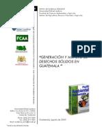 (11) Desechos Solidos en Guatemala