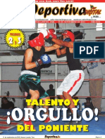 Deportiva Digital 11 Septiembre 2012