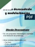 Diseño Descendente y modularización