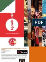 Boletín Corredor Cultural del Centro No. 11 (12 al 19 de septiembre de 2012)