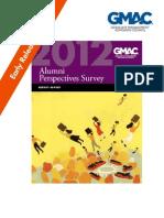 Alumni Survey GMAC 2011