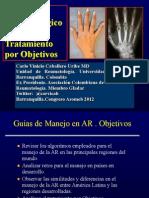 Algoritmos en Artritis Reumatoide. Manejo por Objetivos