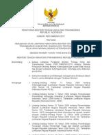 Permenaker Ttg Perubahan Atas Lampiran Permenaker No 15 Th 2010 Ttg Standar Pelayanan Minimal Bidang Ketenagakerjaan