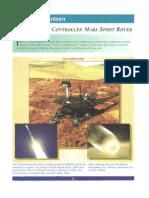 Mars Spirit Rover Plans