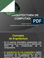Modelo de Arquitectura de Computadoras