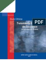 Guia Clinica Minsal Escoliosis 2010
