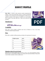 Product Profile of fast consuming goods