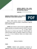 Sentencia de Amparo Directo Civil 6-2008