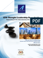 CFO Thought Leadership Roundtable