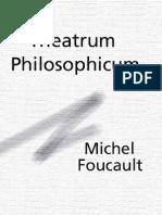 Foucault, Michel - Theatrum Philosophicum