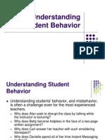 Understanding Student Behavior
