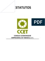 Estatutos CCET 4ago12