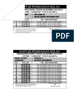 Amikom Yogyakarta - Pembagian Kelas 2012xls