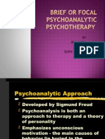 Brief Psychoanalysis