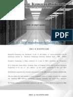 Mainframe Brochure