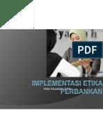 Implementasi Etika Perbankan