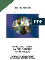 Introduction a La Philosophie Analytique