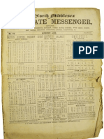 Southgate Messenger - August 1862 - Report on the Consecration of Christ Church Southgate