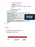 DISEÑO DE ESTRATEGIAS