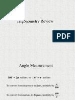 Trig Review Noproblems