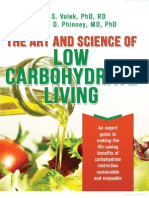 Art and Science of Low Carbohydrate Living - Phinney, Stephen & Volek, Jeff