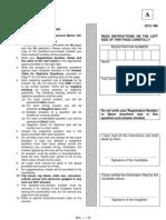 IIT JAM 2012 Paper Mathematics