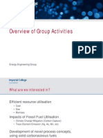 Energy Engineering Group Research- Imperial College