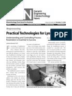 Practical Tech Lyo Genengnews