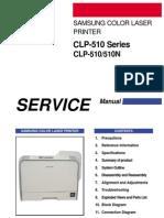 Clp 510servicemanual