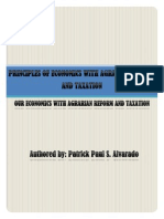 Principles of Economics With Agrarian Reform and Taxation