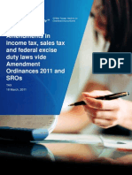 Amendments in Taxes-2011